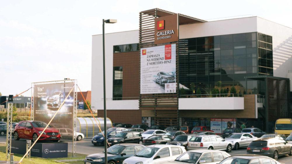 Galeria Sucholeska - front