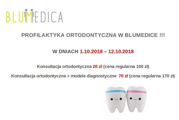 Profilaktyka ortodontyczna w Blumedice